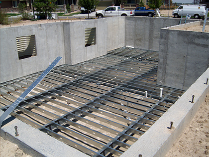 Wonderful Steel Joist With Wood Deck